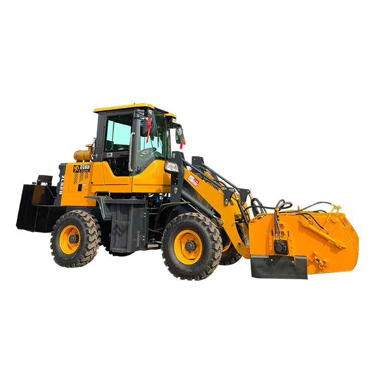 強力工地掃路車 順飛 裝載機改清掃機 攪拌站掃路車