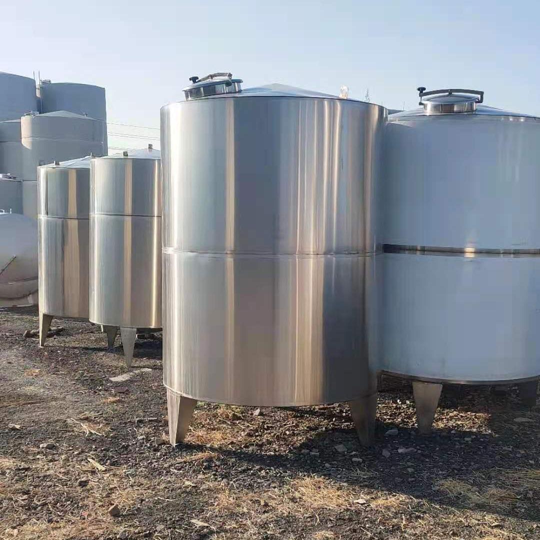二手不銹鋼儲罐 不銹鋼儲罐 儲罐  立式不銹鋼儲罐 語佳二手設備 型號齊全1000-20000