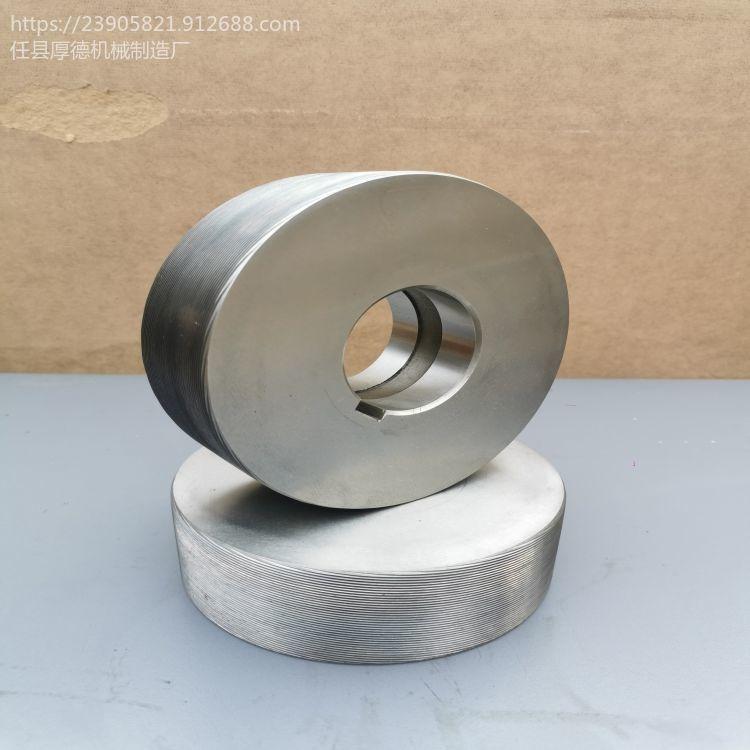 供應全型號高硬度cr12mov材質螺紋滾絲輪